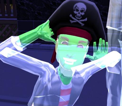 Пират призрак