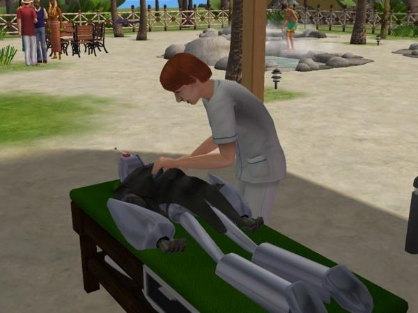 Денис в отпуске - Остров Твикки - Антону делают массаж, вопрос зачем???