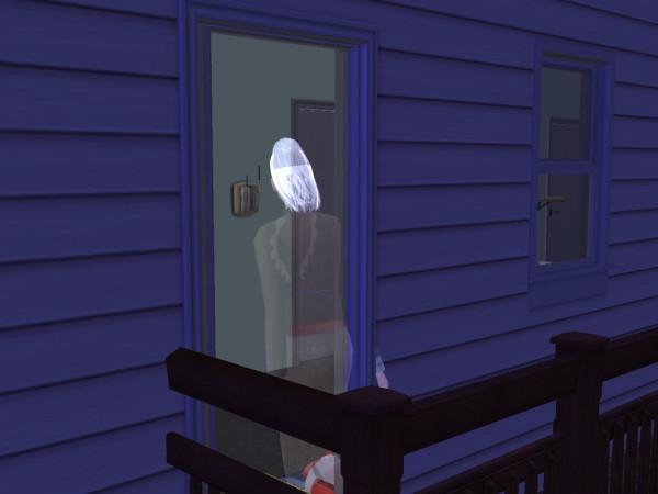 Призрак Лилии. Дом ещё не был в ремонте.