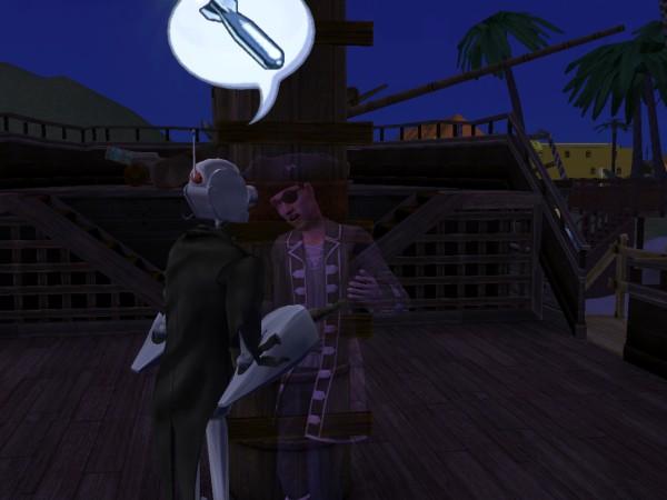 Призрак поющего пирата. Антон с ним подружился!
