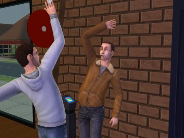 Денис и его друг Нико. Нико - это брат Рико.