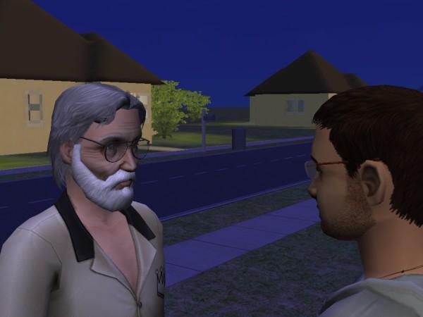 Денис и его сын - Саша.