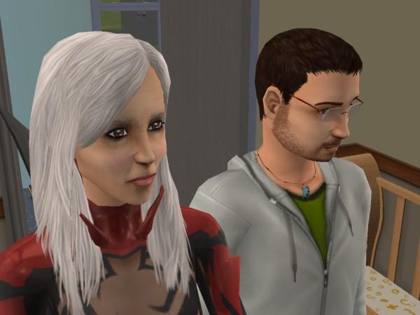 Денис и его дочка - Юля.