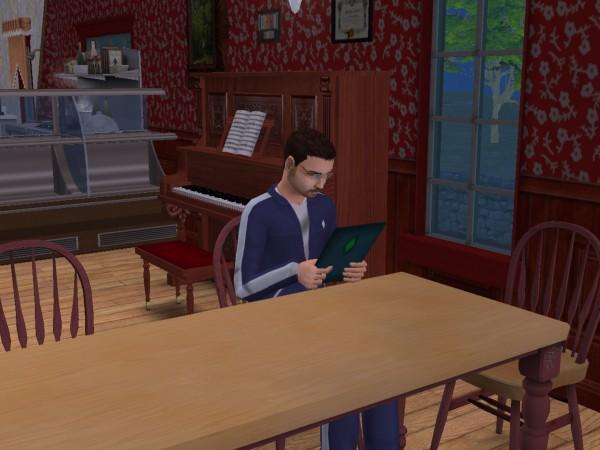 Денис в ресторане Харерама.