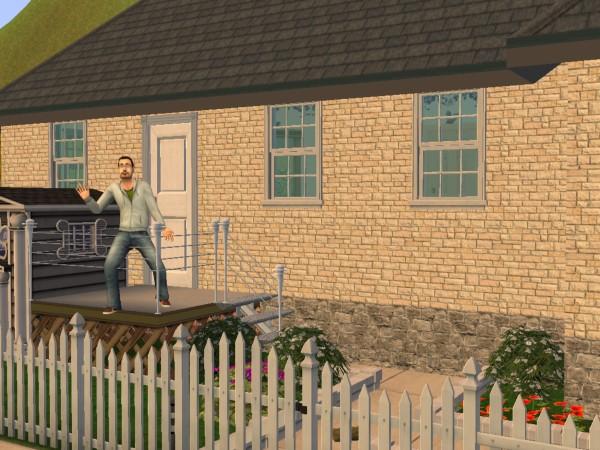 Дом Дениса после ремонта.