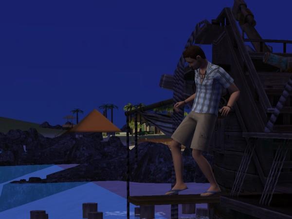 Денис в отпуске - Остров Твикки.