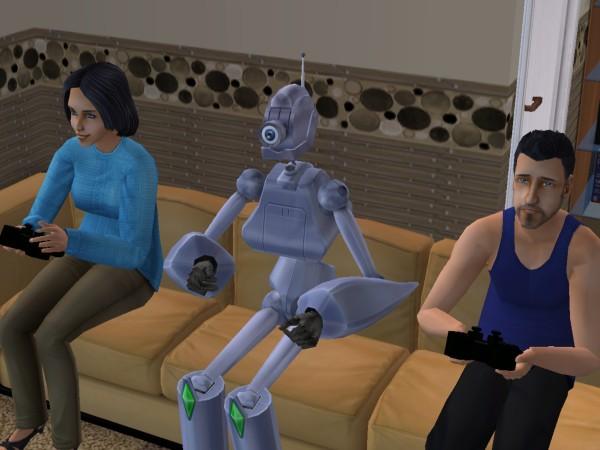 Антон и его друзья - Белла и Андрей.