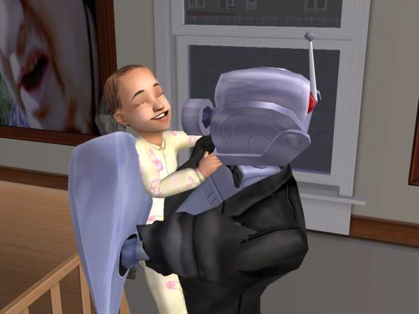 Антон и Алла - его усыновленая дочь.