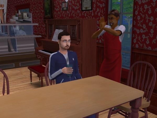 Дениса не хочет слушать официант в ресторане Харерама.